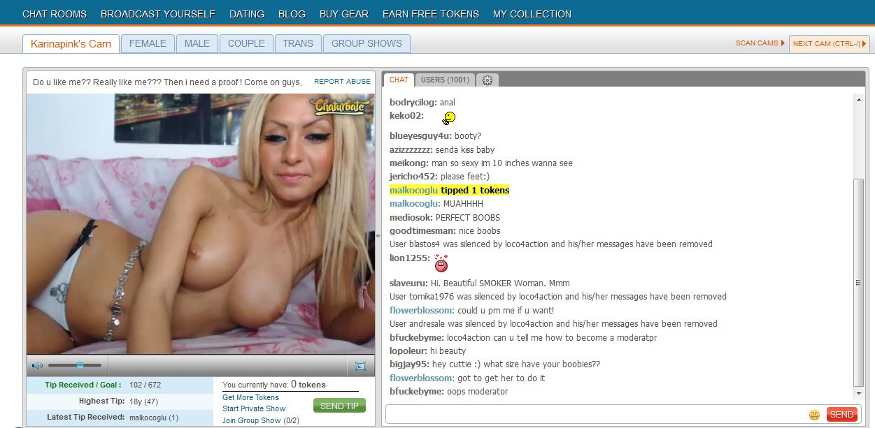 chaturbate chat with model free